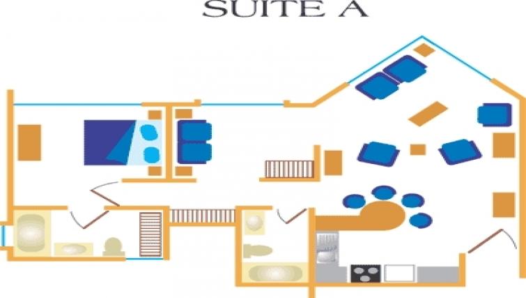 Floor plan 5 at Villas del Rio Aparthotel