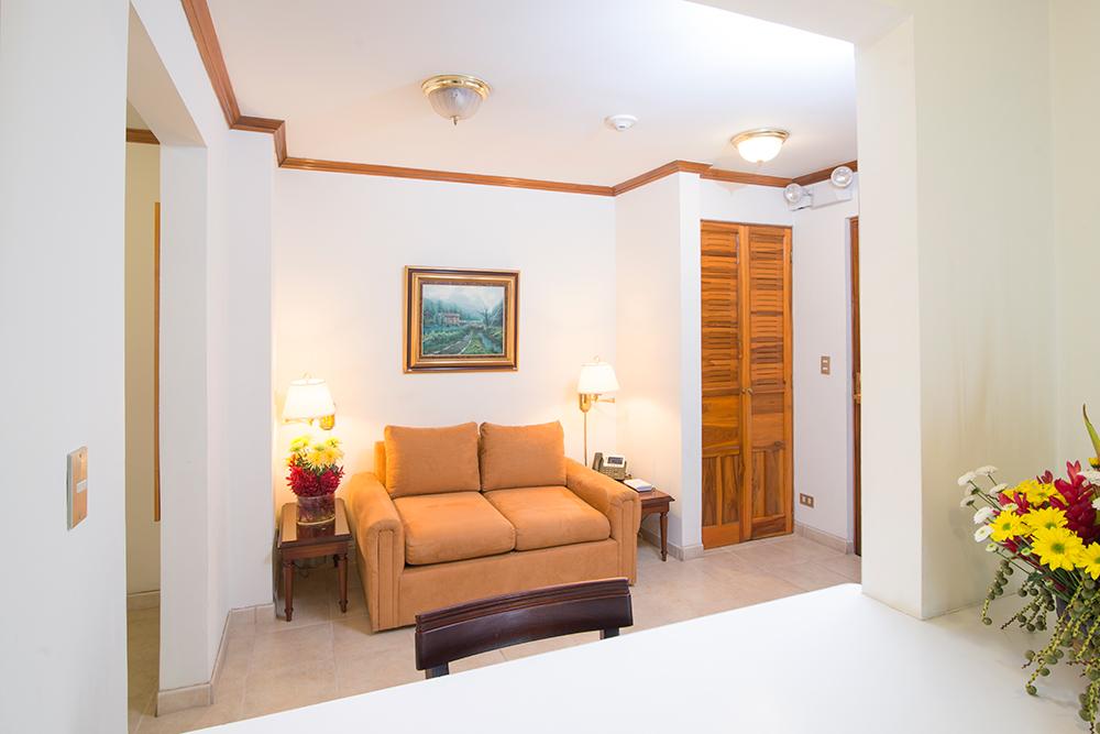 Sofa at Villas del Rio Aparthotel