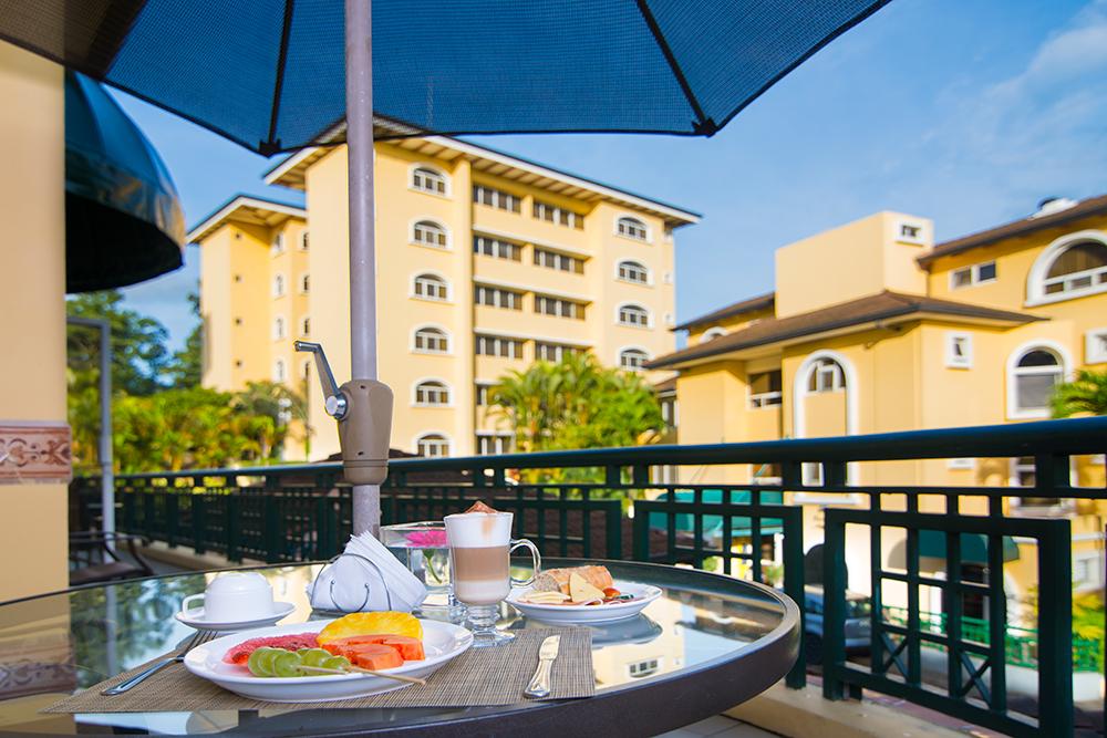 Balcony at Villas del Rio Aparthotel
