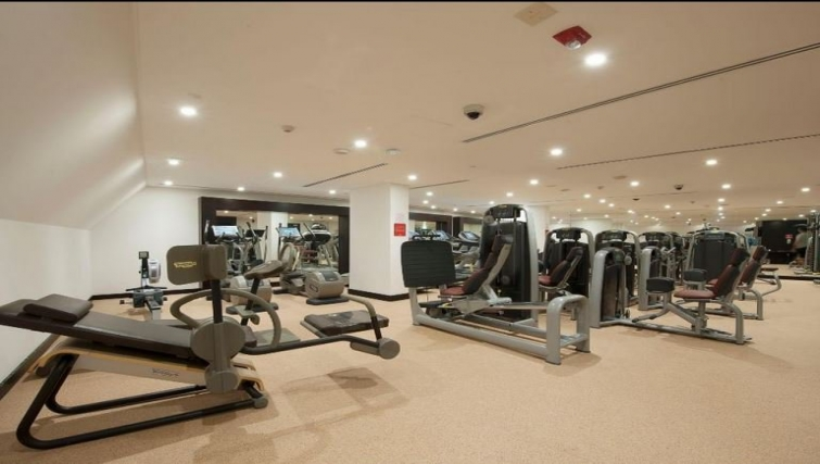 Equipped gym in Crowne Plaza Doha - The Business Park