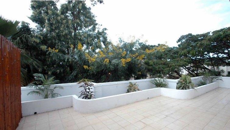 Practical patio in 535 Koramangala Apartments
