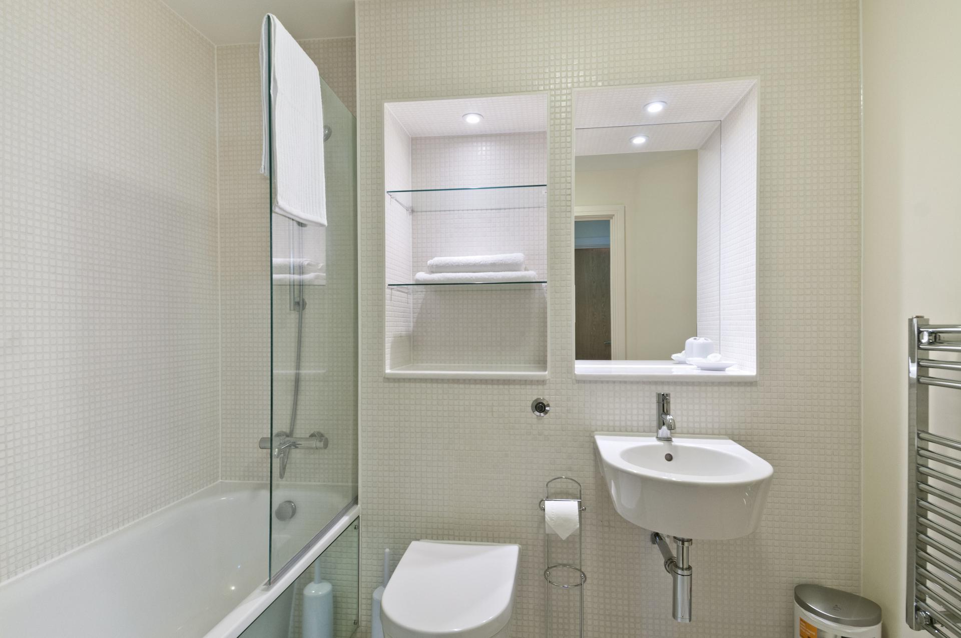Bathroom at Great Suffolk Street Apartment