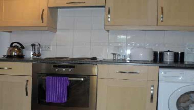 Equipped kitchen in Coral Apartment