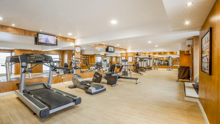 Fitness centre at Golden Sands Apartments