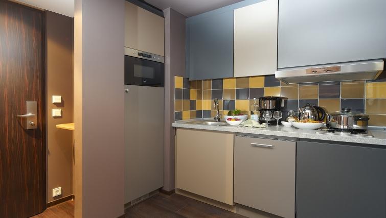 Ideal kitchen in Adagio Koln City