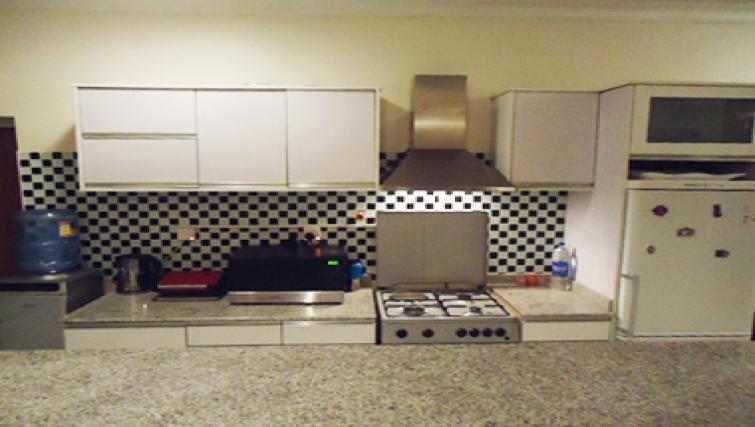 Practical kitchen in Aart Suites