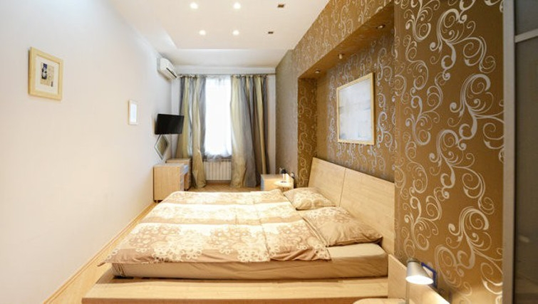 Desirable bedroom in Basseynaya Apartment