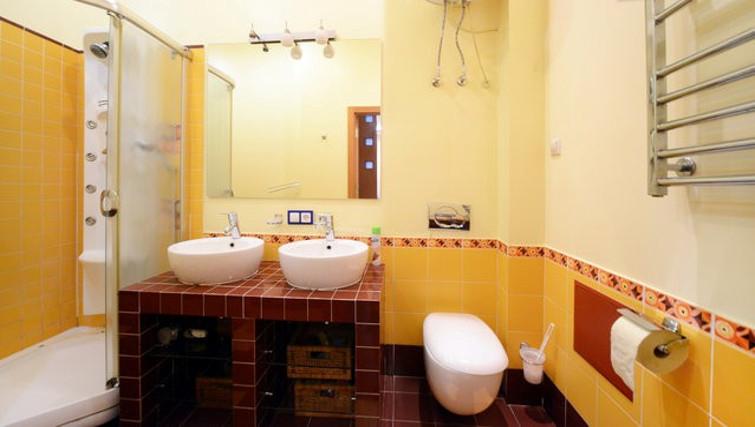 Ideal bathroom in Basseynaya Apartment