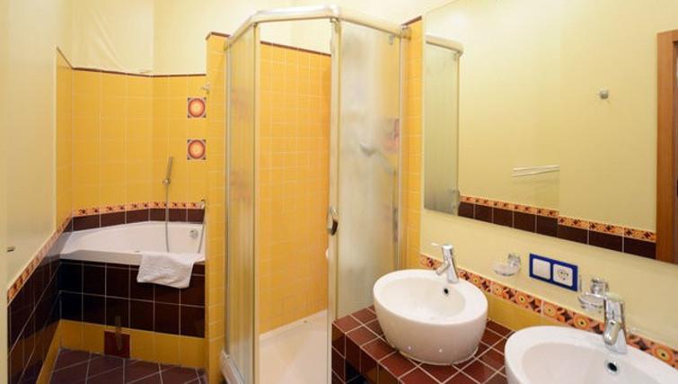Practical bathroom in Basseynaya Apartment