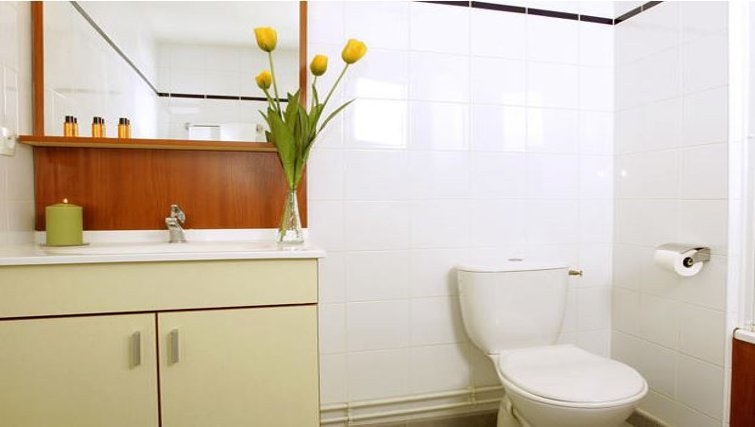 Pristine bathroom in Appart City Toulouse Labege