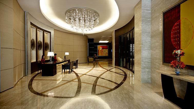 Lobby area at Marriott Executive Apartments Sathorn Vista - Bangkok
