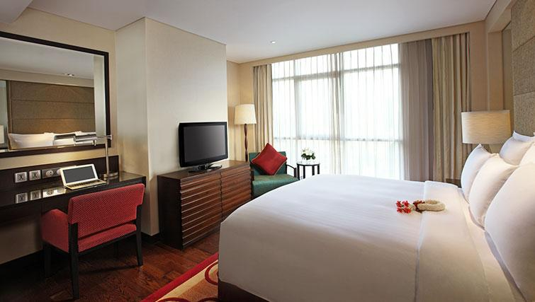 Classy bedroom in Marriott Executive Apartments Sathorn Vista - Bangkok