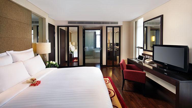 Delightful bedroom in Marriott Executive Apartments Sathorn Vista - Bangkok
