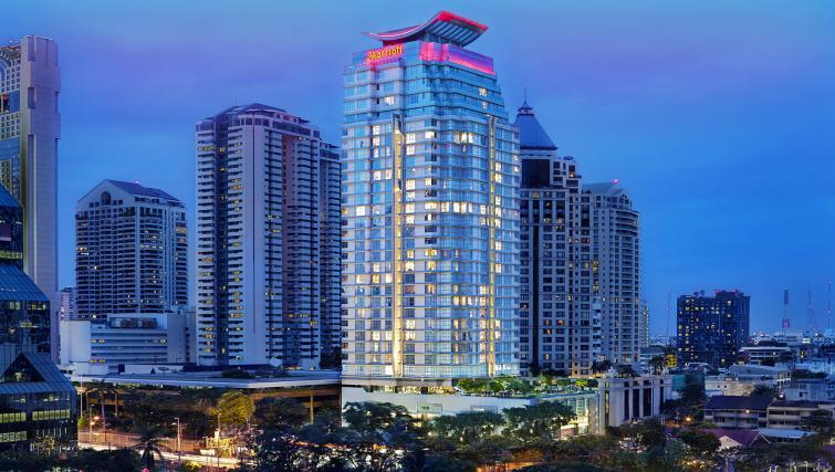 Exterior of Marriott Executive Apartments Sathorn Vista - Bangkok