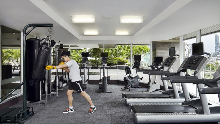 Gym at Marriott Executive Apartments Sathorn Vista - Bangkok