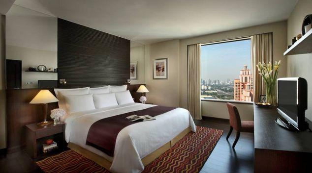 Stylish bedroom in Marriott Executive Apartments Sukhumvit Park - Bangkok