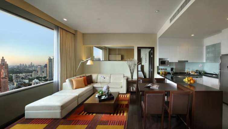 Multifunctional living area in Marriott Executive Apartments Sukhumvit Park - Bangkok