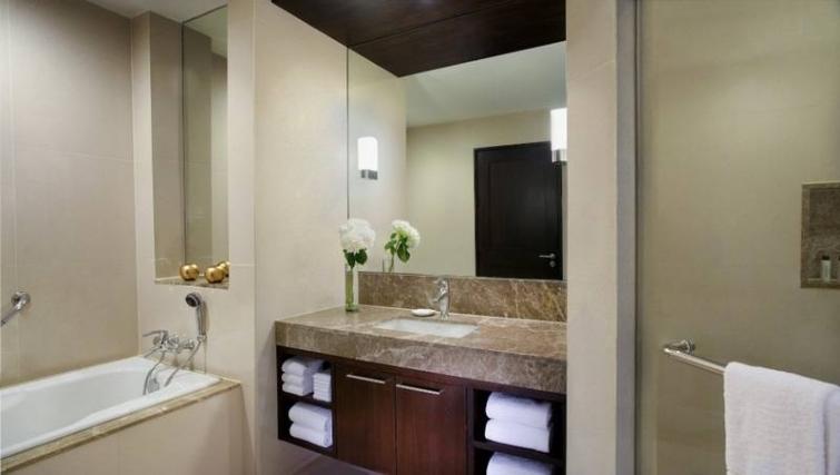 Pristine bathroom in Marriott Executive Apartments Sukhumvit Park - Bangkok