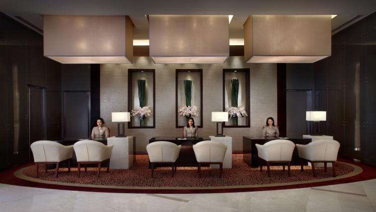 Reception at Marriott Executive Apartments Sukhumvit Park - Bangkok