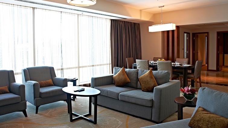 Sofa at InterContinental Doha The City