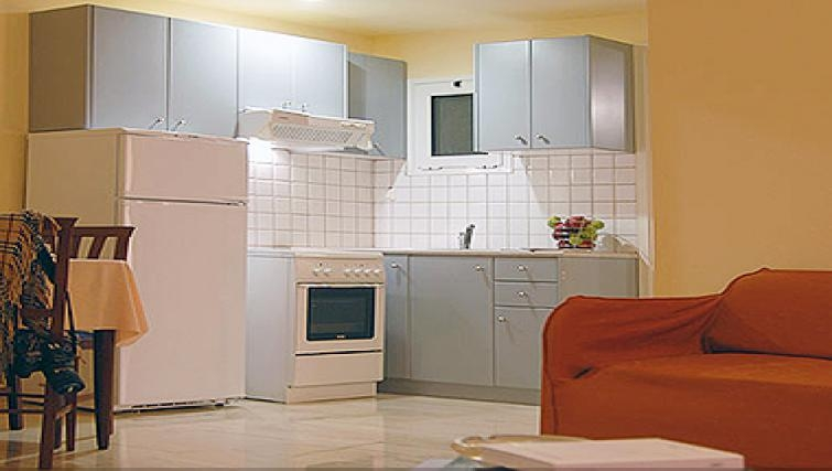 Attractive kitchen in Delice Hotel Apartments