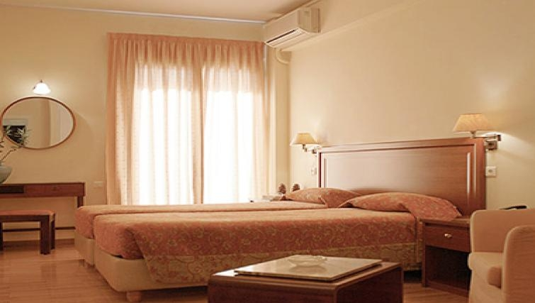 Ideal bedroom in Delice Hotel Apartments