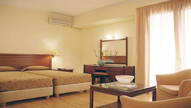 Tasteful bedroom in Delice Hotel Apartments