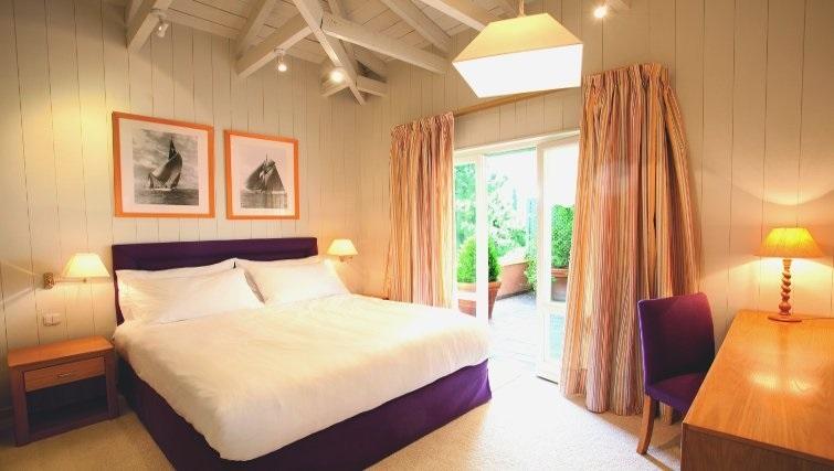 Delightful bedroom in The Kefalari Suites