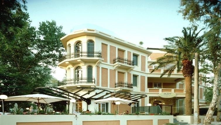 Attractive exterior of The Kefalari Suites