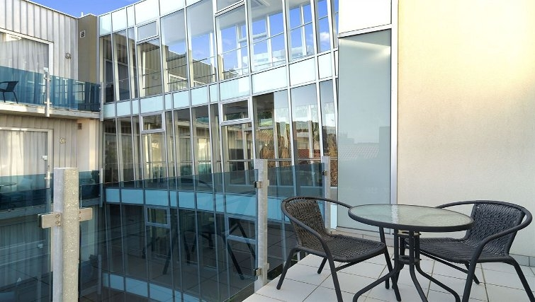 Ideal balcony in Adina Apartment Hotel Melbourne, St Kilda