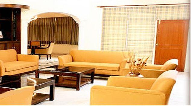 Bright living area in Pinnacle Apartments Gurgaon