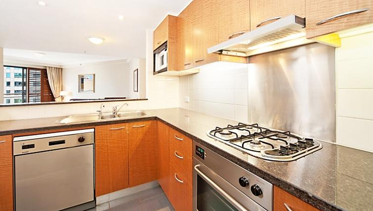 Spacious kitchen in Astra Regency Hyde Park Apartments