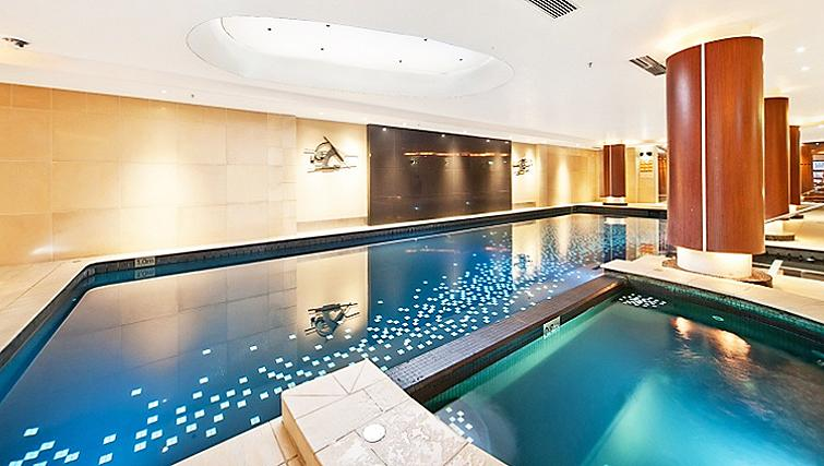 Spectacular pool in Astra Regency Hyde Park Apartments