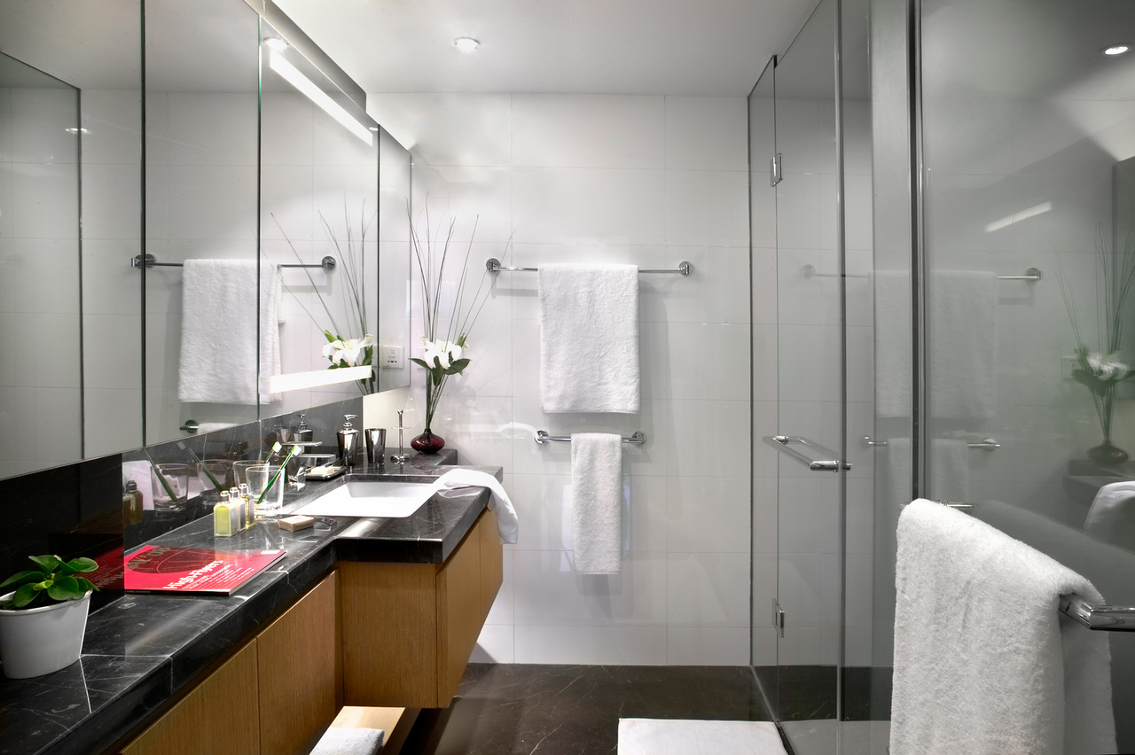 Bathroom in Somerset Riverview & Apartments