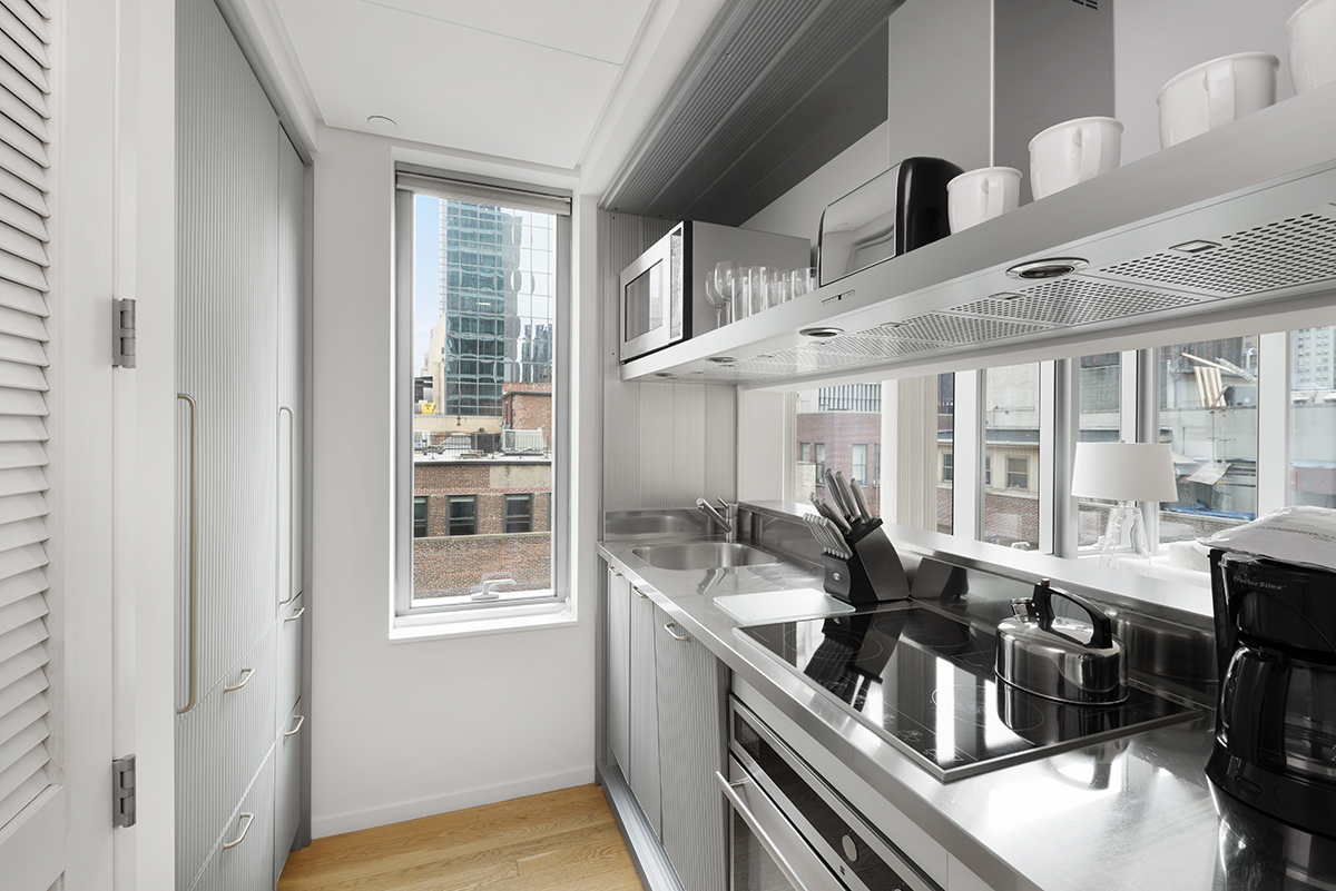 Kitchen at The Centria Apartments