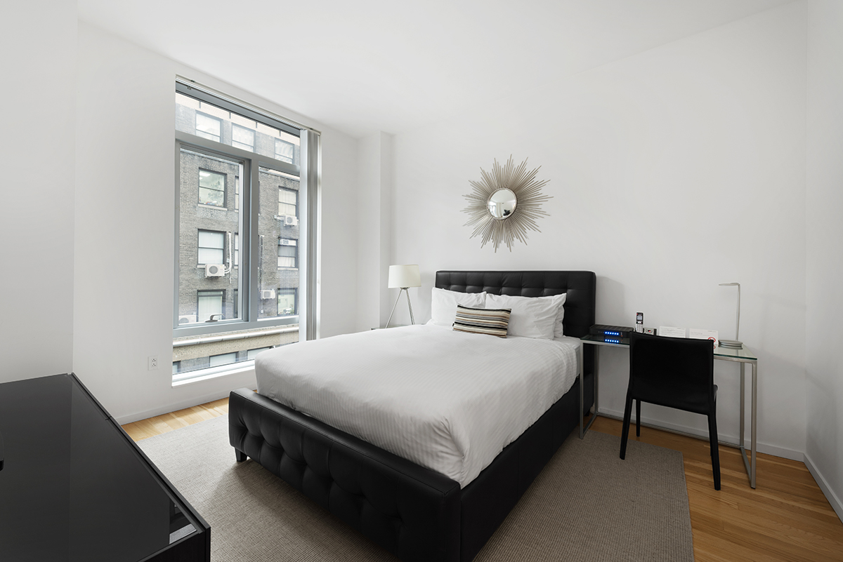 Bedroom at The Centria Apartments
