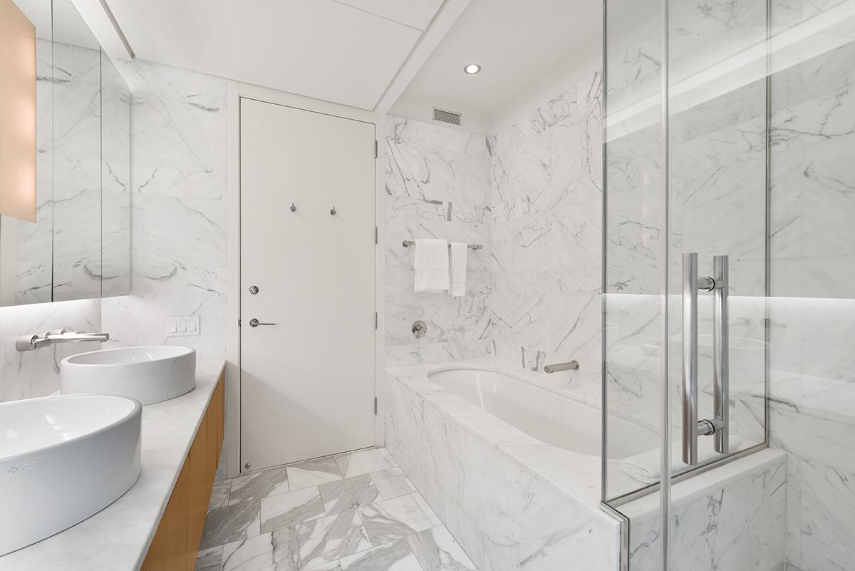 Bathroom at The Centria Apartments