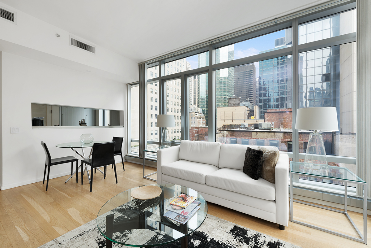 Sofa at The Centria Apartments