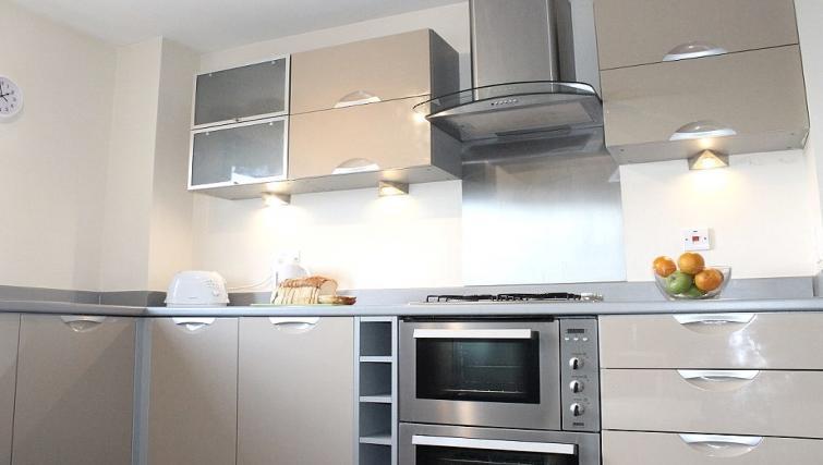 Kitchen at the Cotels The Pinnacle Apartments