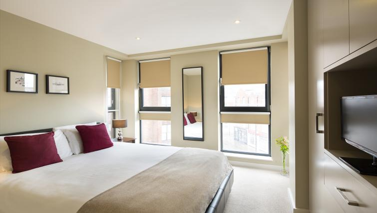 Bedroom at Victoria by Q Apartments