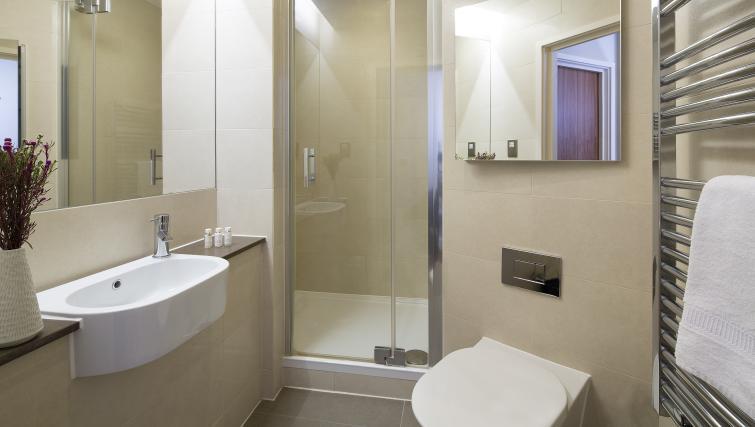 Bathroom at Victoria by Q Apartments