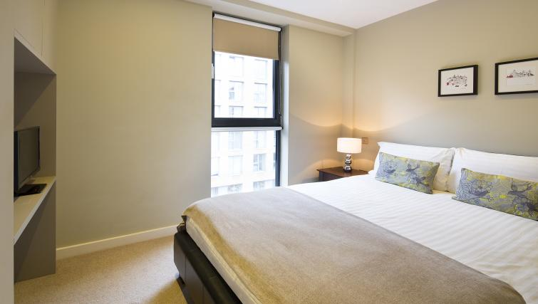 Second bedroom at Victoria by Q Apartments
