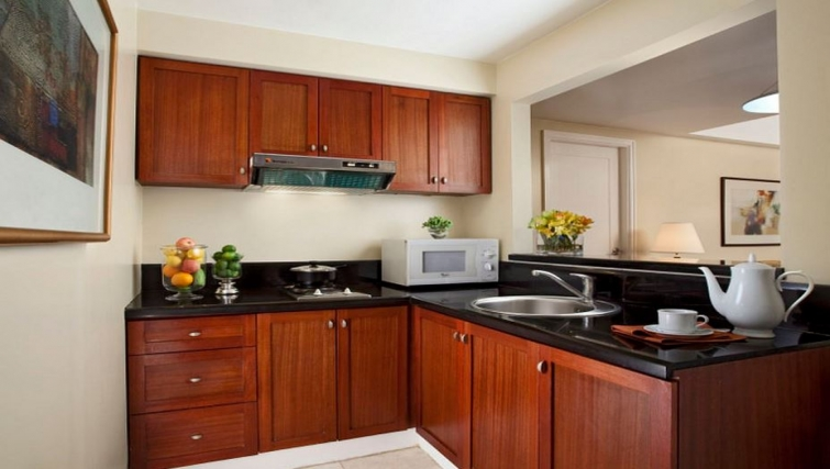 Kitchen in Somerset Olympia Apartments