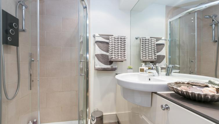 Bathroom facilities at The Armitage Hyde Park