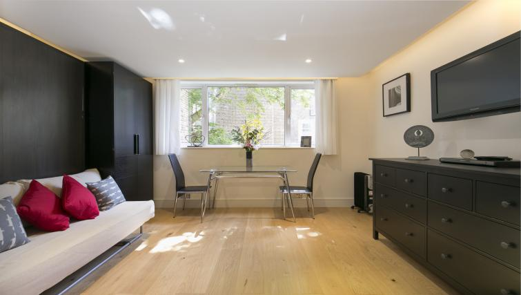 Open plan living area at The Armitage Hyde Park