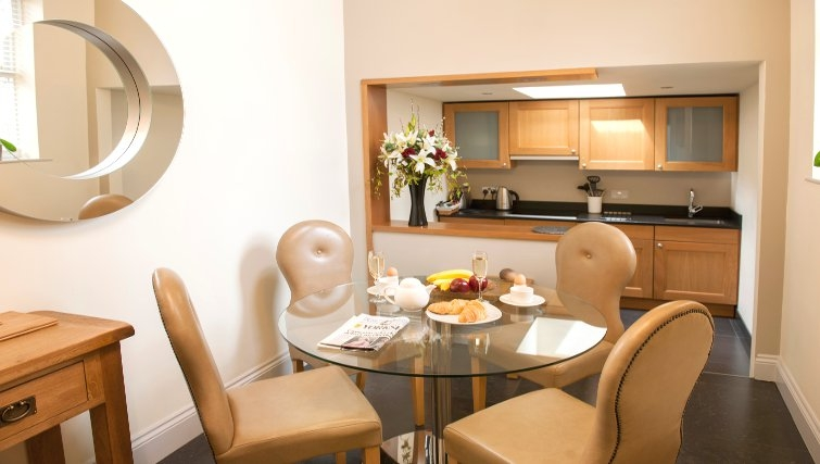 Ideal dining area at Lawrance Apartments