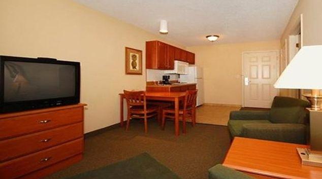 Bright living area at North Charleston Apartments