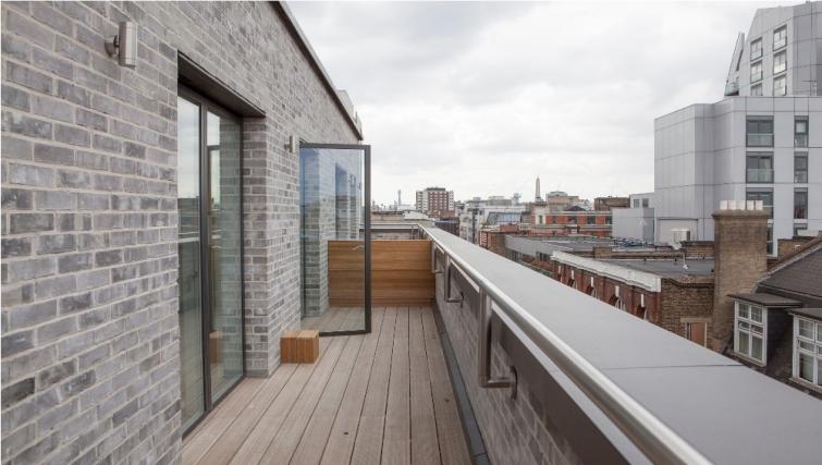 Balcony at London Square Apartments