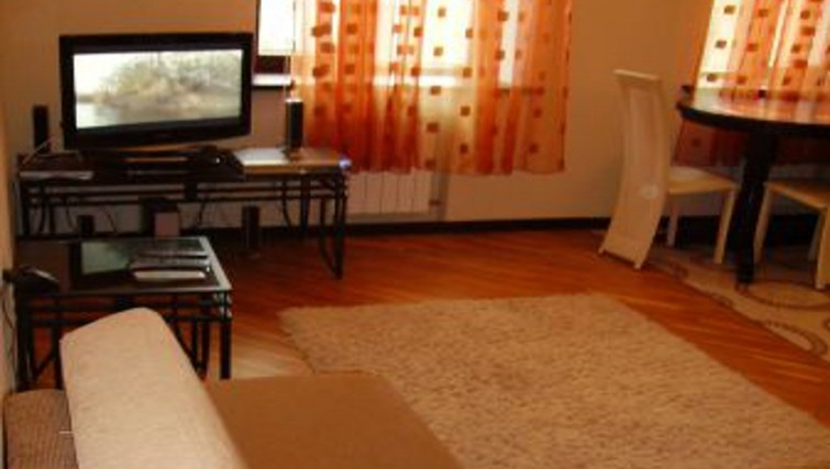 Comfortable living area in Krassnoarmeyskaya Apartment