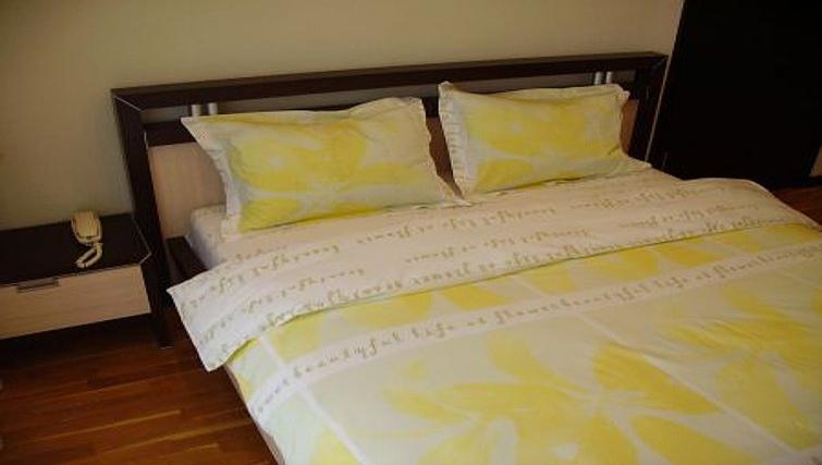 Delightful bedroom in Krassnoarmeyskaya Apartment